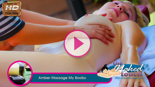 Amber in Massage My Boobs