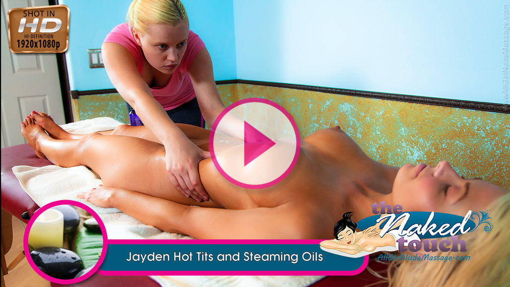 Jayden in Hot Tits and Steaming Oils
