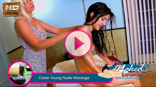 Claire in Young Nude Massage